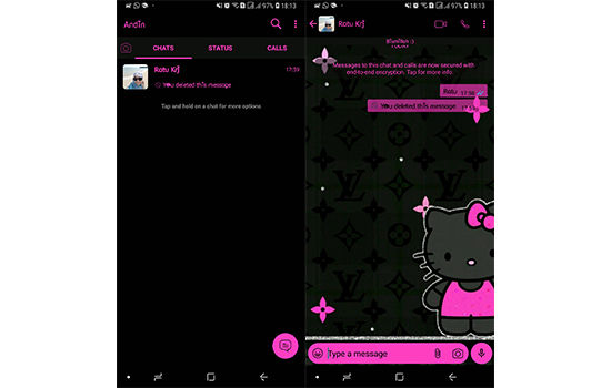 Tema Whatsapp Hello Kitty 6 8419b