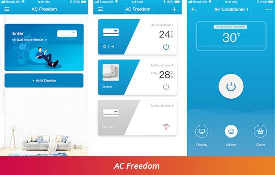 Aplikasi Remot Ac Freedom C0894