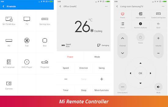 Aplikasi Remot Ac Mi Remote Controller C3521