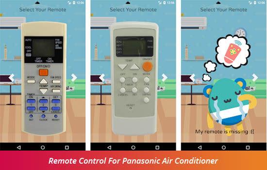 Aplikasi Remot Ac Panasonic 40e03