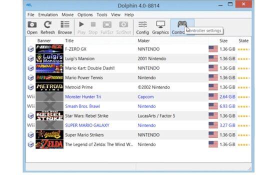 Emulator Wii Dolphin 4 8809b