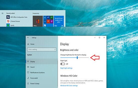 Cara Meredupkan Layar Laptop Windows10 3 D8af8