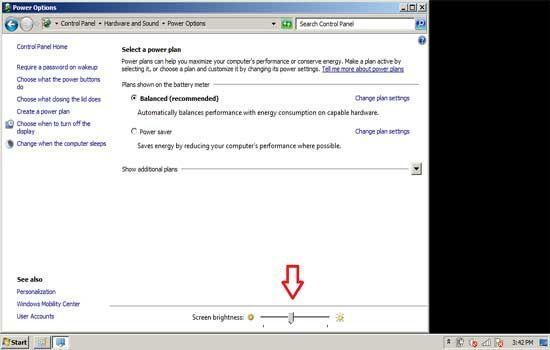 Cara Meredupkan Layar Laptop Windows7 4 0e64f