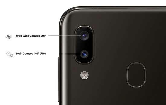 Perbedaan Samsung A20 Dan M20 Kamera Samsung A20 Dba3f