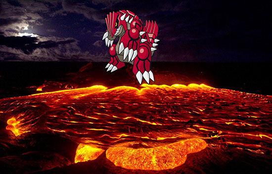 Volcano Groudon