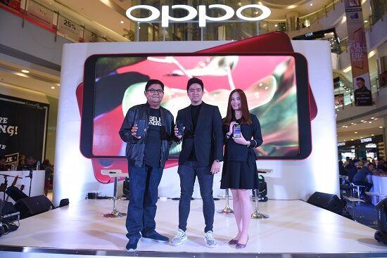 Target Penjualan Oppo F5 1
