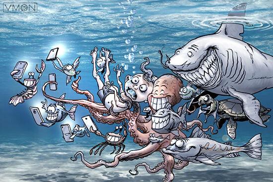 Ilustrasi Perlakuan Hewan Ke Manusia 3