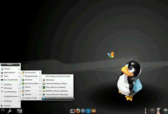 Sistem Operasi Hacker Terbaik Pentoo