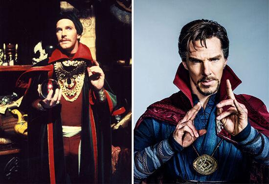 Superhero Dulu Vs Sekarang Doctor Strange