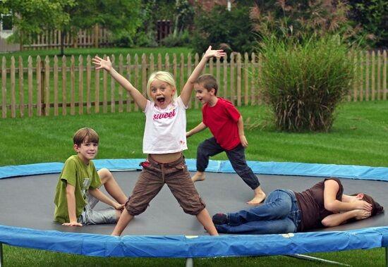 Bigstock Kids On Trampoline 848726