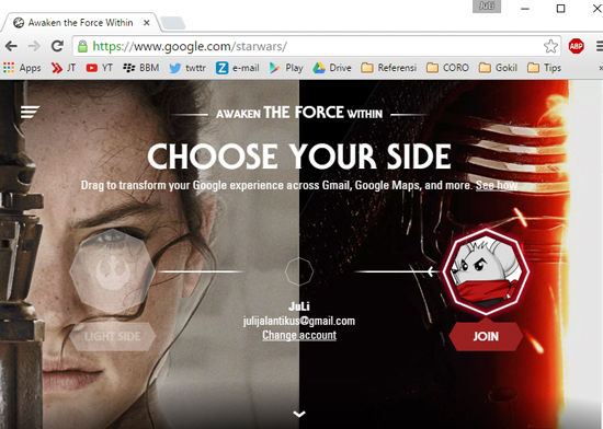 Google Star Wars 2