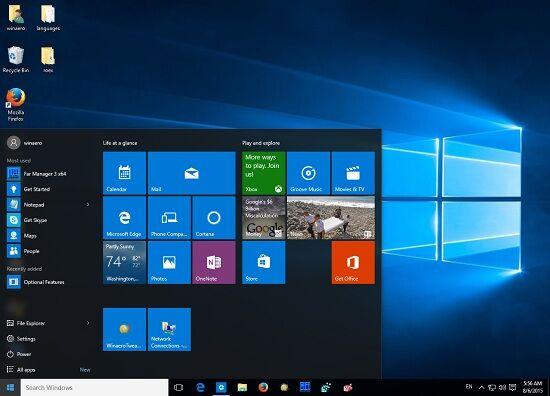 Windows 95 Start Menu 10