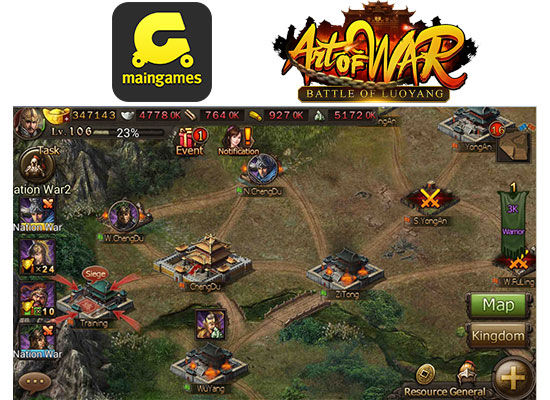 Pra Register Art Of War Pertempuran Luoyang 2 Fdcce