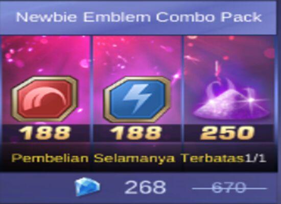 Newbie Emblem B4681