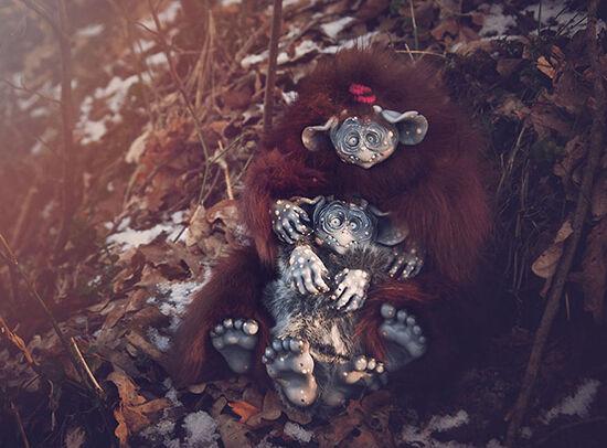 Foto Boneka Hewan Fantasi Lucu Dan Menyeramkan 19
