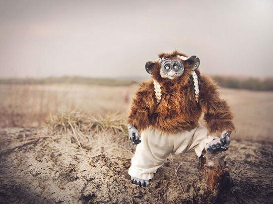 Foto Boneka Hewan Fantasi Lucu Dan Menyeramkan 20