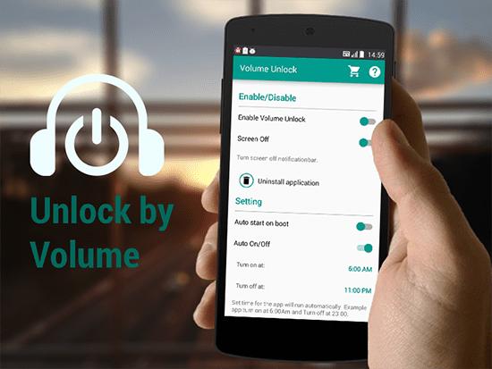 Volume Unlock Power Button Fix