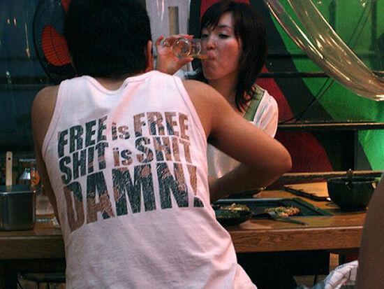 Foto T Shirt Aneh Bahasa Inggris 30