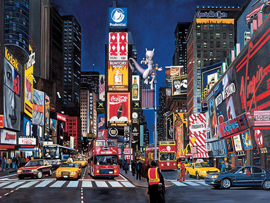 Mewtwo Times Square New York