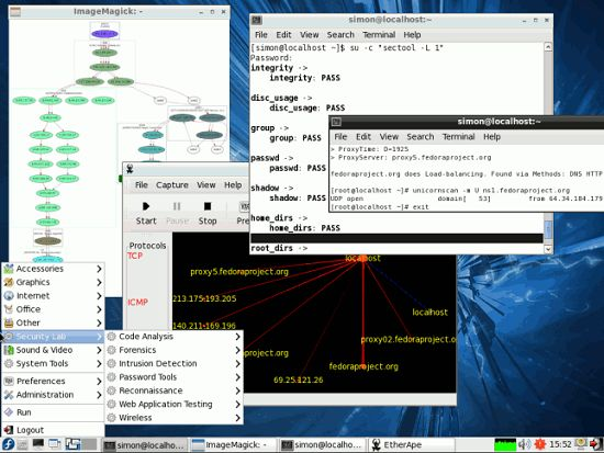 Fedora Security Spin 8727a