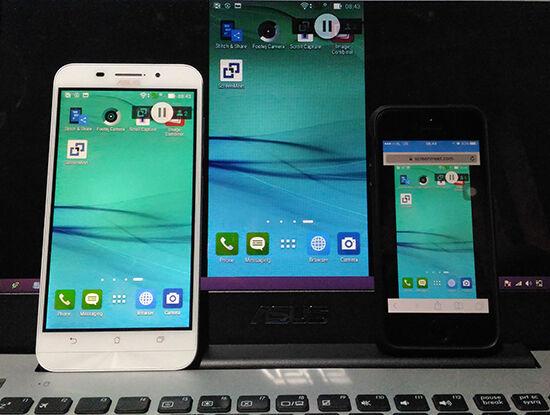 Cara Mudah Share Tampilan Layar Android