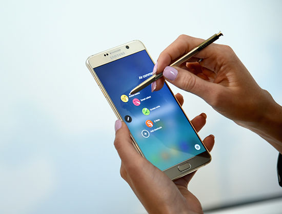 Phablet Android Terbaik Samsung Galaxy Note5