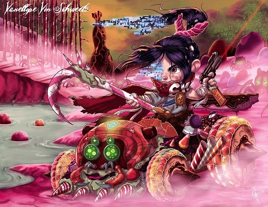 Disney Cantik Monster Menyeramkan 9