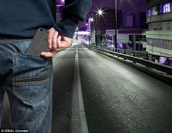 Smartphone Pistol Ideal Conceal 4
