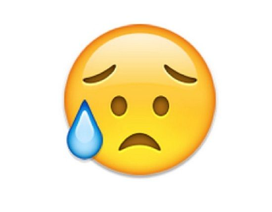 Emoji Kecewa Bukan Nangis 1