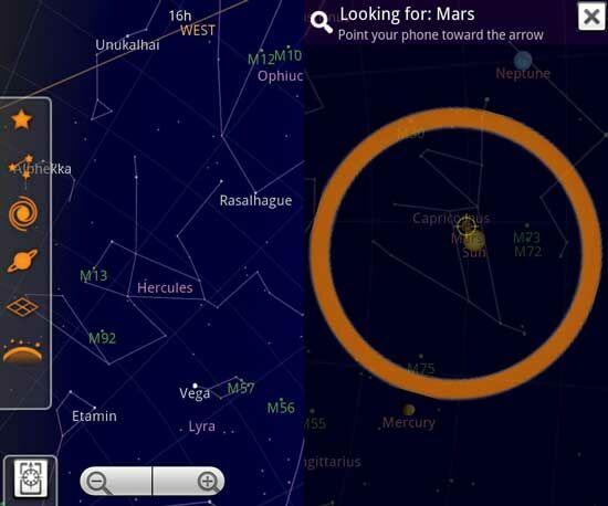 Aplikasi Android Terbaru Sky Map
