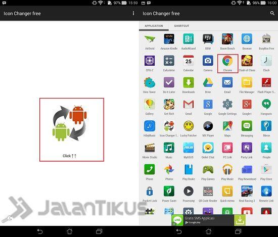 Cara Merubah Icon Aplikasi Di Android Tanpa Root 1