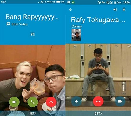 Bbm Video Call Di Indonesia 6