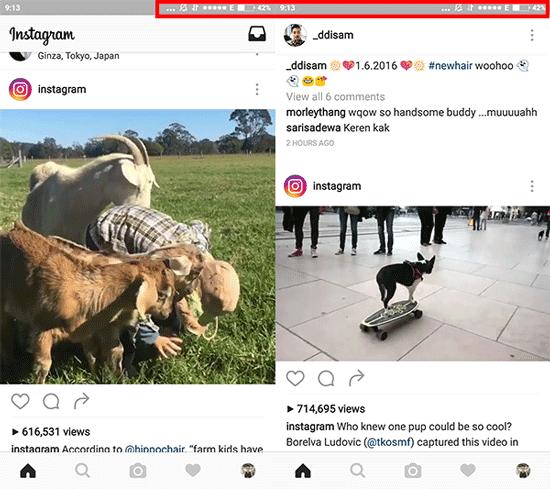 Cara Matikan Autoplay Instagram