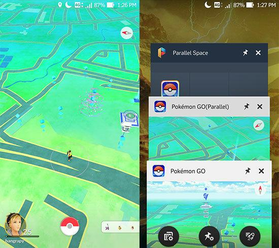 2 Akun Pokemon Go Dalam 1 Android 3