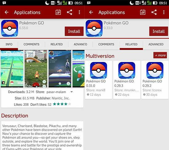 Tidak Bisa Download Pokemon Go