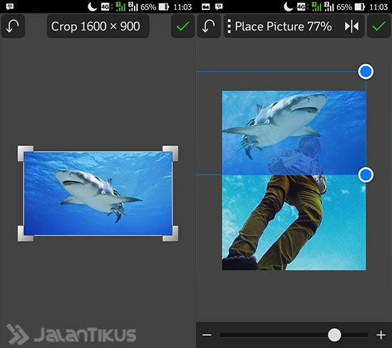 Cara Membuat Foto Up And Up 3