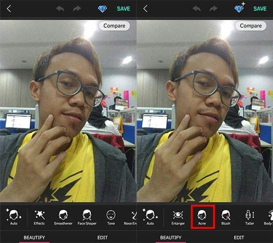 Tips Selfie Dengan Android 2