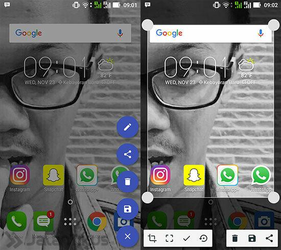 Cara Screenshot Android Sebagian Layar 5