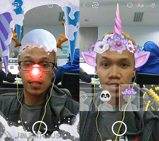 Snapchat Di Facebook Messenger 4