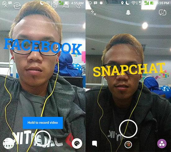 Snapchat Di Facebook Messenger 6