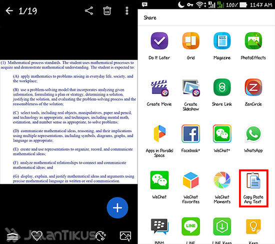 Cara Copy Paste Teks Dari Gambar Di Android 2