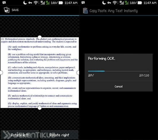 Cara Copy Paste Teks Dari Gambar Di Android 3