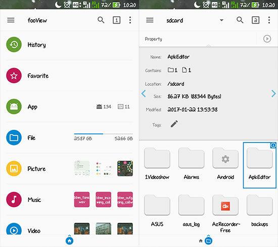 Aplikasi Android Canggih Fooview 4