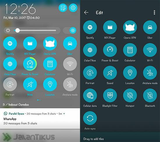 Android Nougat Zenfone 3 2
