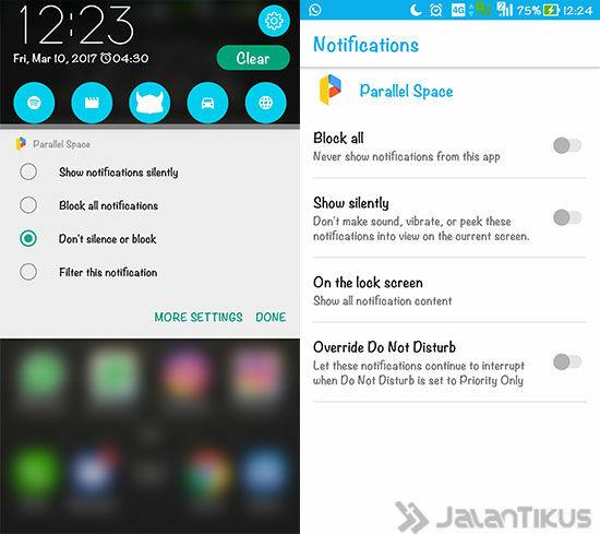 Android Nougat Zenfone 3 5