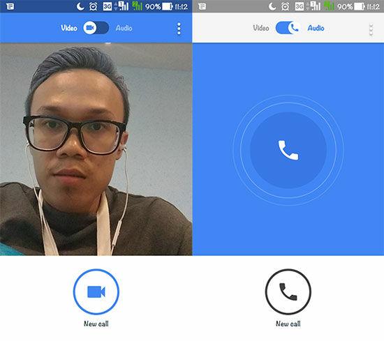 Panggilan Suara Google Duo
