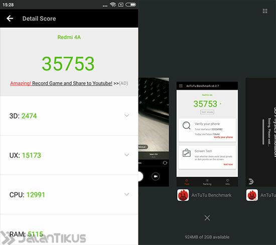 Review Xiaomi Redmi 4a 4
