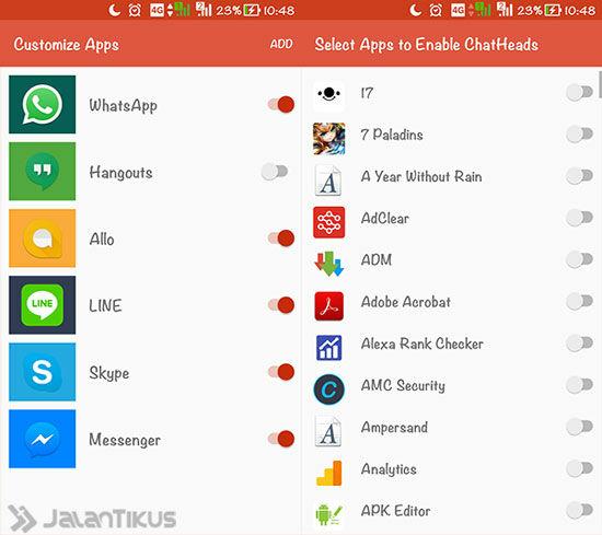 Cara Mengaktifkan Chat Heads Di Semua Aplikasi 3
