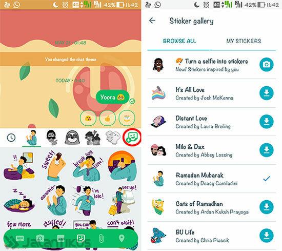 Cara Mengubah Selfie Jadi Sticker Chatting 2