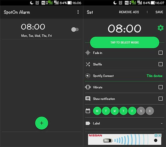 Cara Ubah Spotify Jadi Alarm